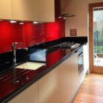 Colour Glass Splashbacks in Bishop Stortford