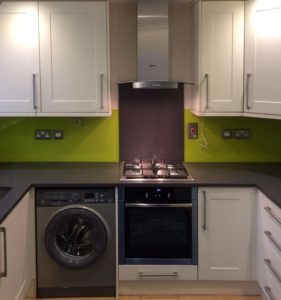 Harlow kitchen Splash backs