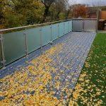 glass decking border in Essex