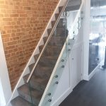 glass bannister