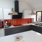 glazed kitchen splashbacks in Essex